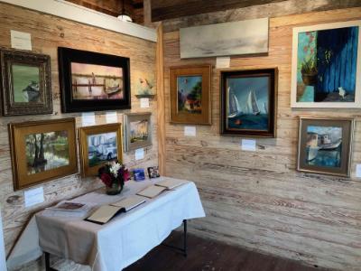 Susan Richardson's art show at Live Oak gallery