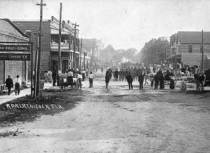 Old photo of Apalachicola