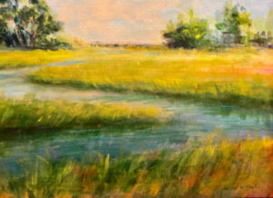 Painting of the Apalachicola River