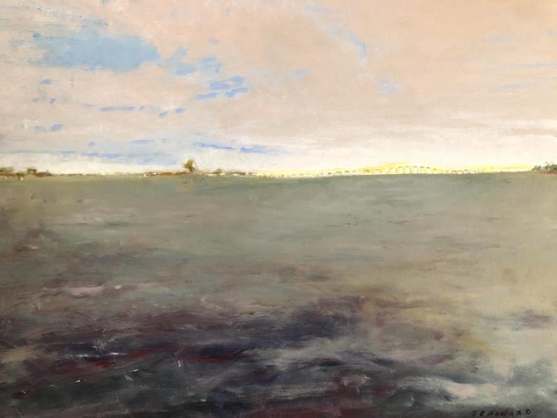 """""""Dusk"""" 18x22 oil on canvas $950"""