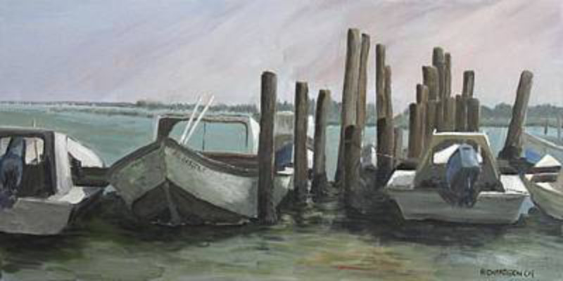 Low Tide 18x36 canvas wrap giclee $225