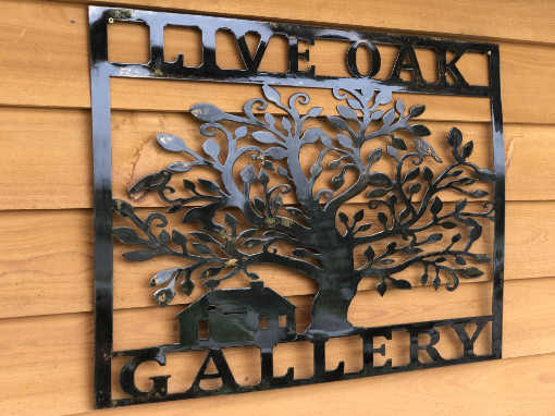 Live Oak Gallery Metal Art Apalachicola, FL