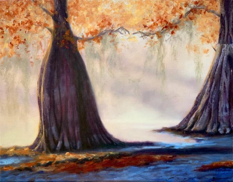 Gabriella Fiabane Timeless Dance 11x14 oil on canvas $850
