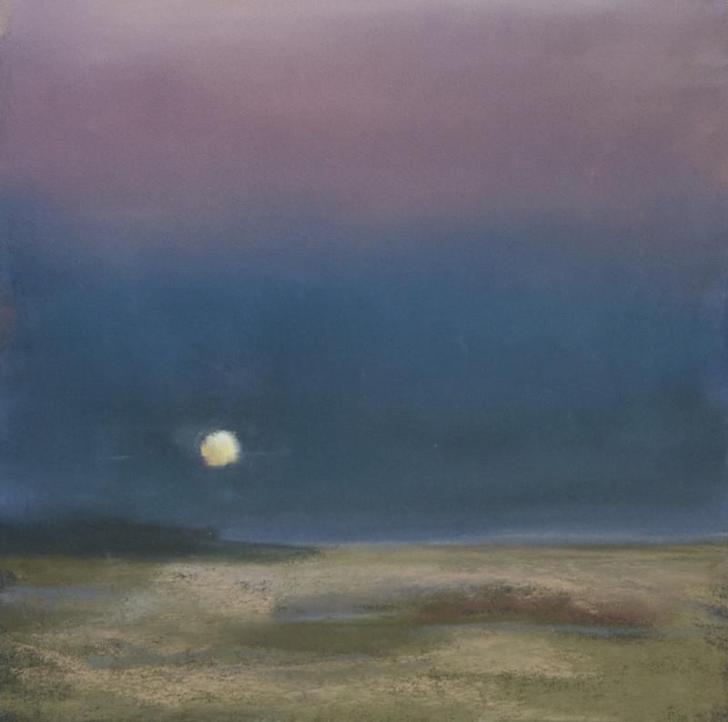 Barbara Noonan MonthlyWonder 7x7 (12x12 framed) pastel $350