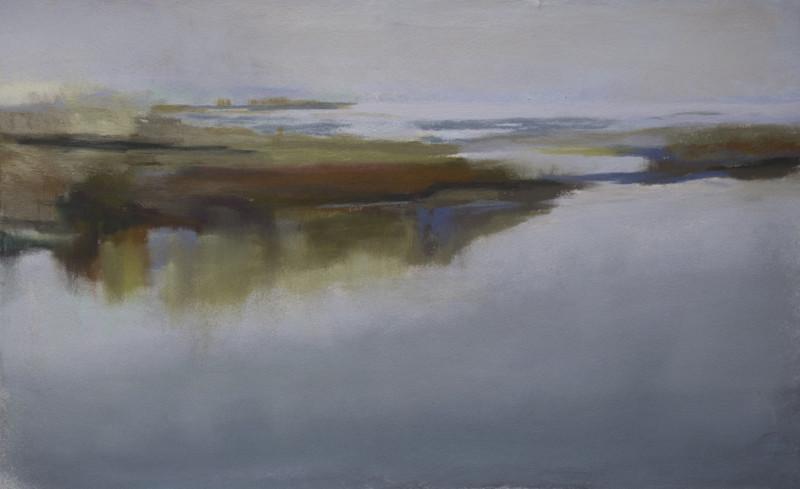 Barbara Noonan RiverPatterns 6x10 (11x15 framed) pastel $450