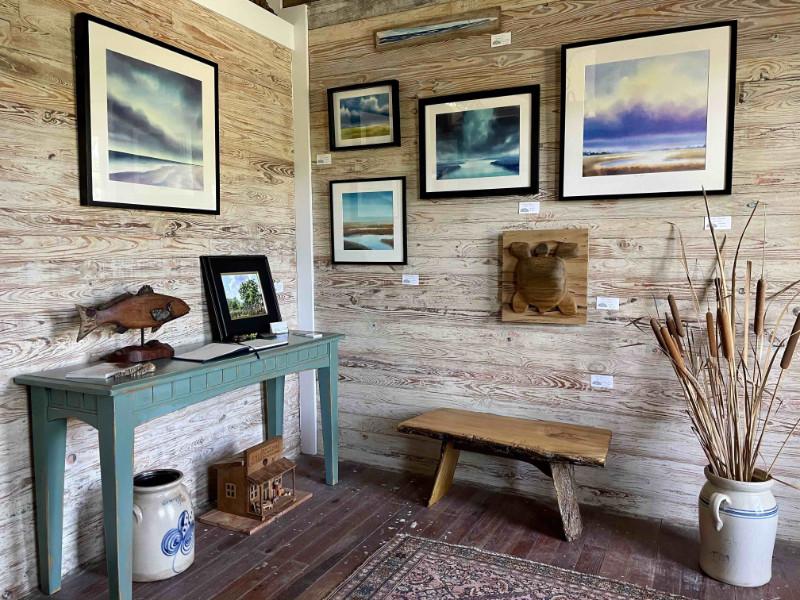 Christine Black gallery wall