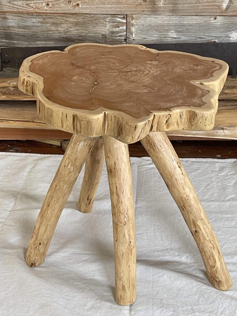 Tom Avery - Cedar Side Table 22x22x22h $750