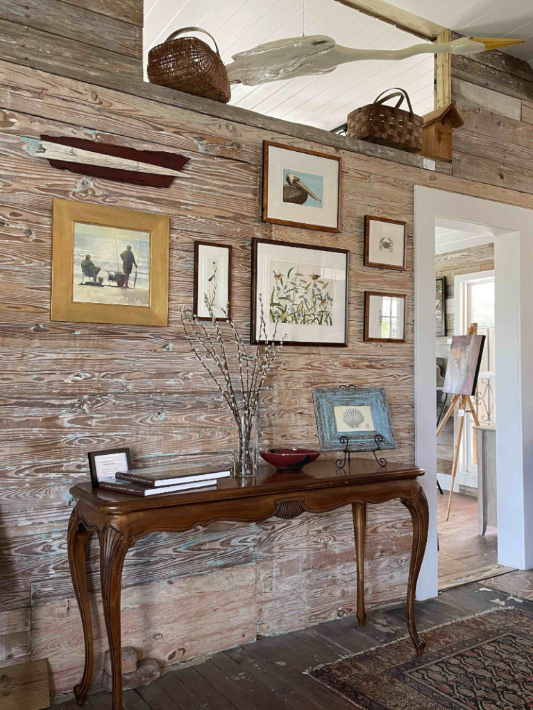 John Furches and friends gallery wall