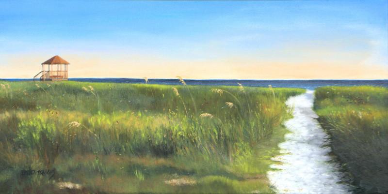 Brenda Francis Alligator Point Gazebo 12x24 oil on canvas $430