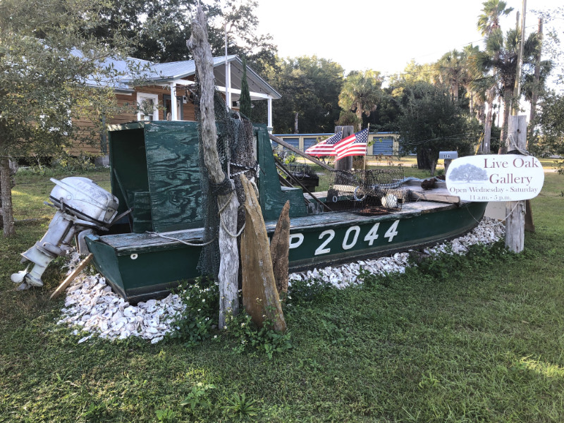 retired oyster boat