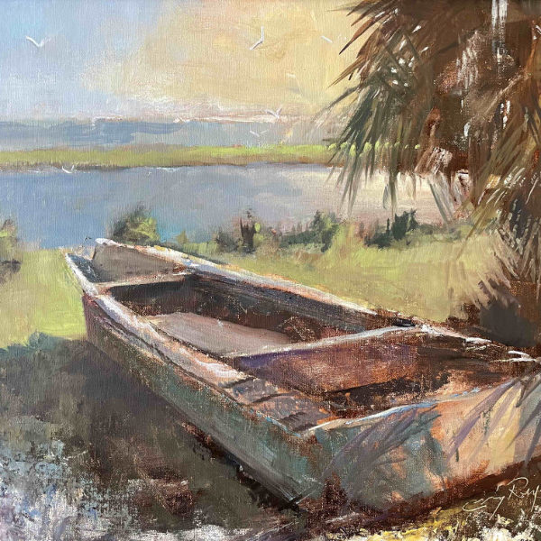 Craig Reynolds The Oysterman's Remains 16x20 oil on linen $625 SOLD